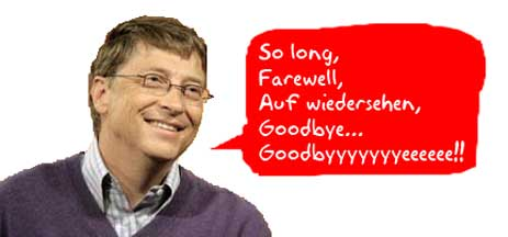 Microsoft Says Goodbye to Gates–and is Doing Just Fine, Thank You Very Much