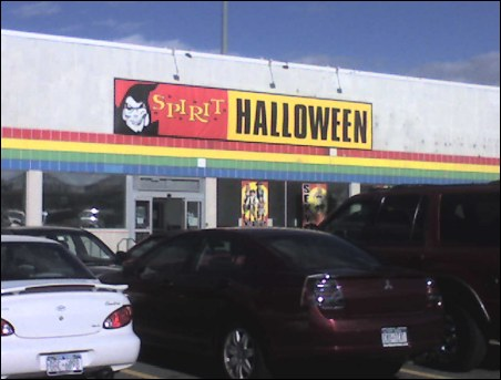 Spirit Halloween Stores Built on Carcasses