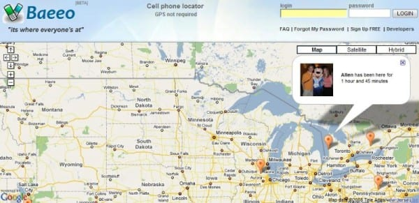 Google Cell Phone Tracker Follows Peoples' Real-Time Locations on