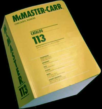 McMaster-Carr Supply Company provides a wide range of products to the manufacturing, plumbing, HVAC, electrical, material handling, maintenance, instrumentation, automotive, food service, storage, transportation and janitorial markets.9/10(61).