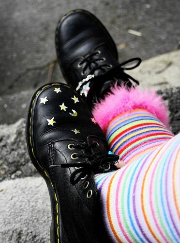 striped-socks