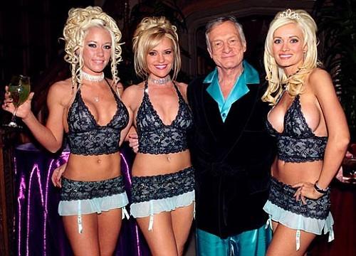 Hugh Hefner girls