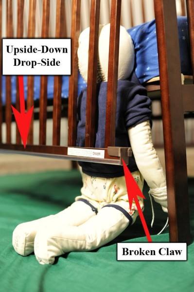 2.1 Million Stork Craft Drop-Side Cribs Recalled