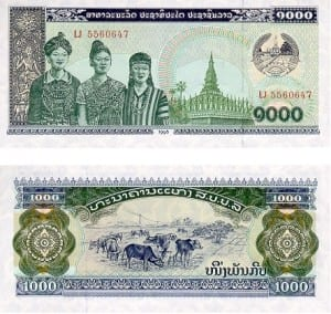 Money - Laos