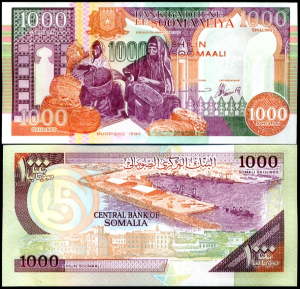 money - somalia