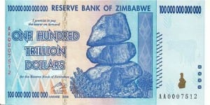 money - zimbabwe