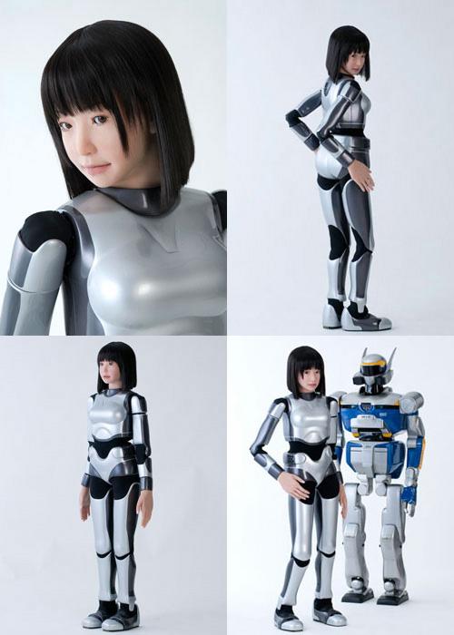 robot -supermodel