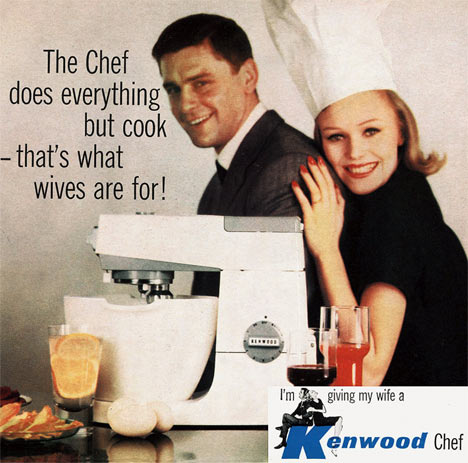 10 Most Sexist Print Ads from the 1950s