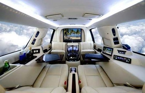 The Luxury Car Office Brainchild Of Limousines World Can Be Set Up