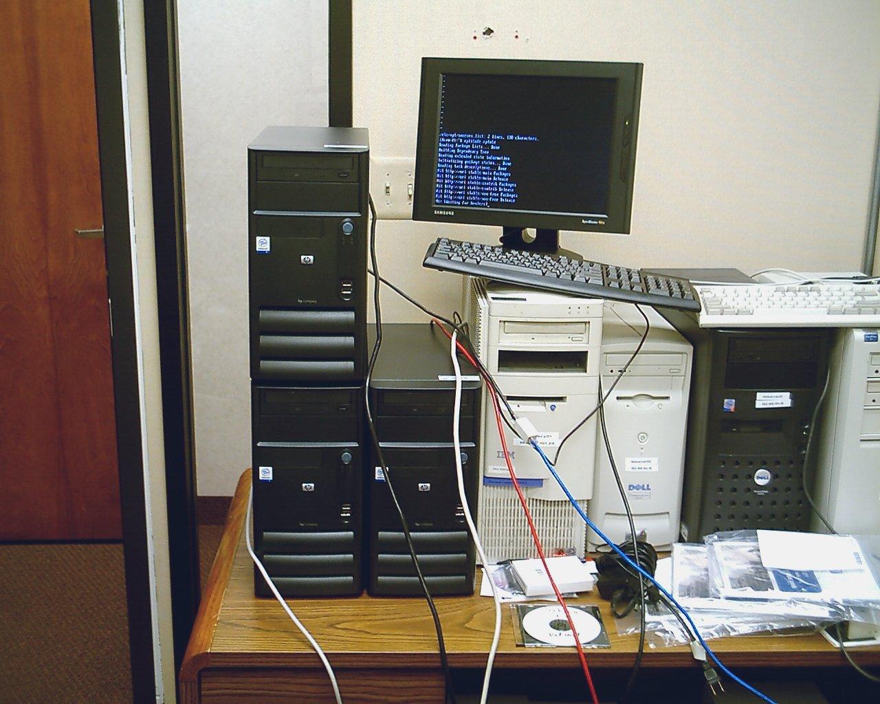 Computer Mess