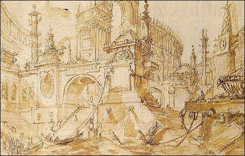 an examination of the intaglio print by giovanni battista piranesi