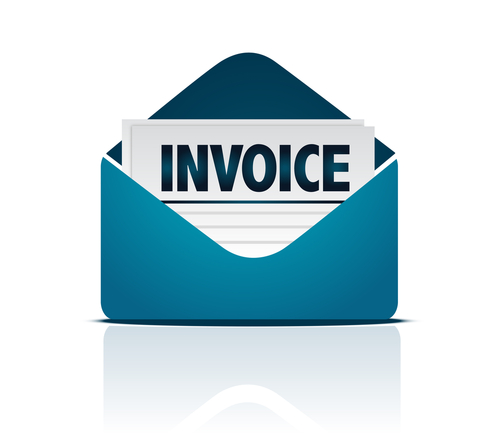 invoices on word