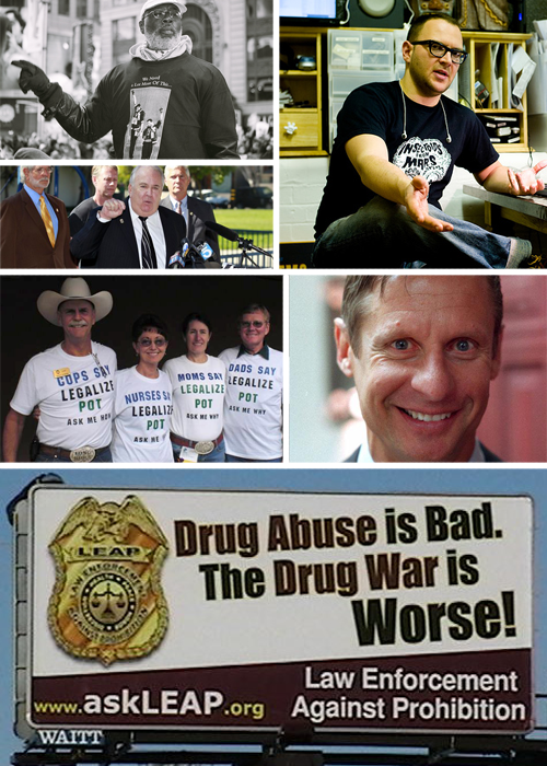 15 of Today's Biggest Advocates Against the Drug War and Police Brutality