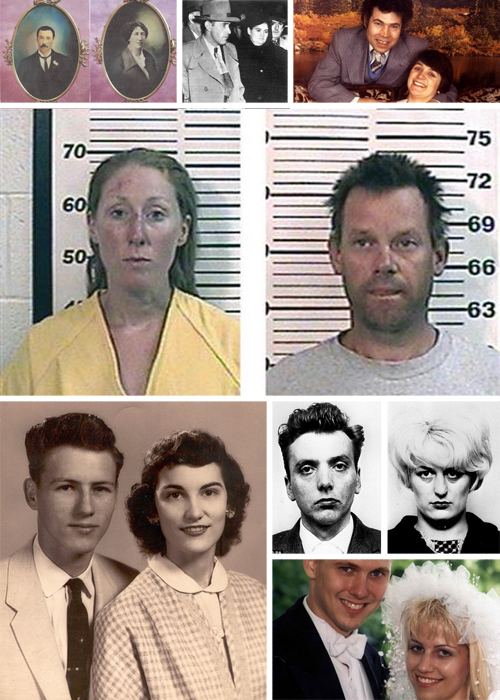 10 Real Life Bonnie and Clydes