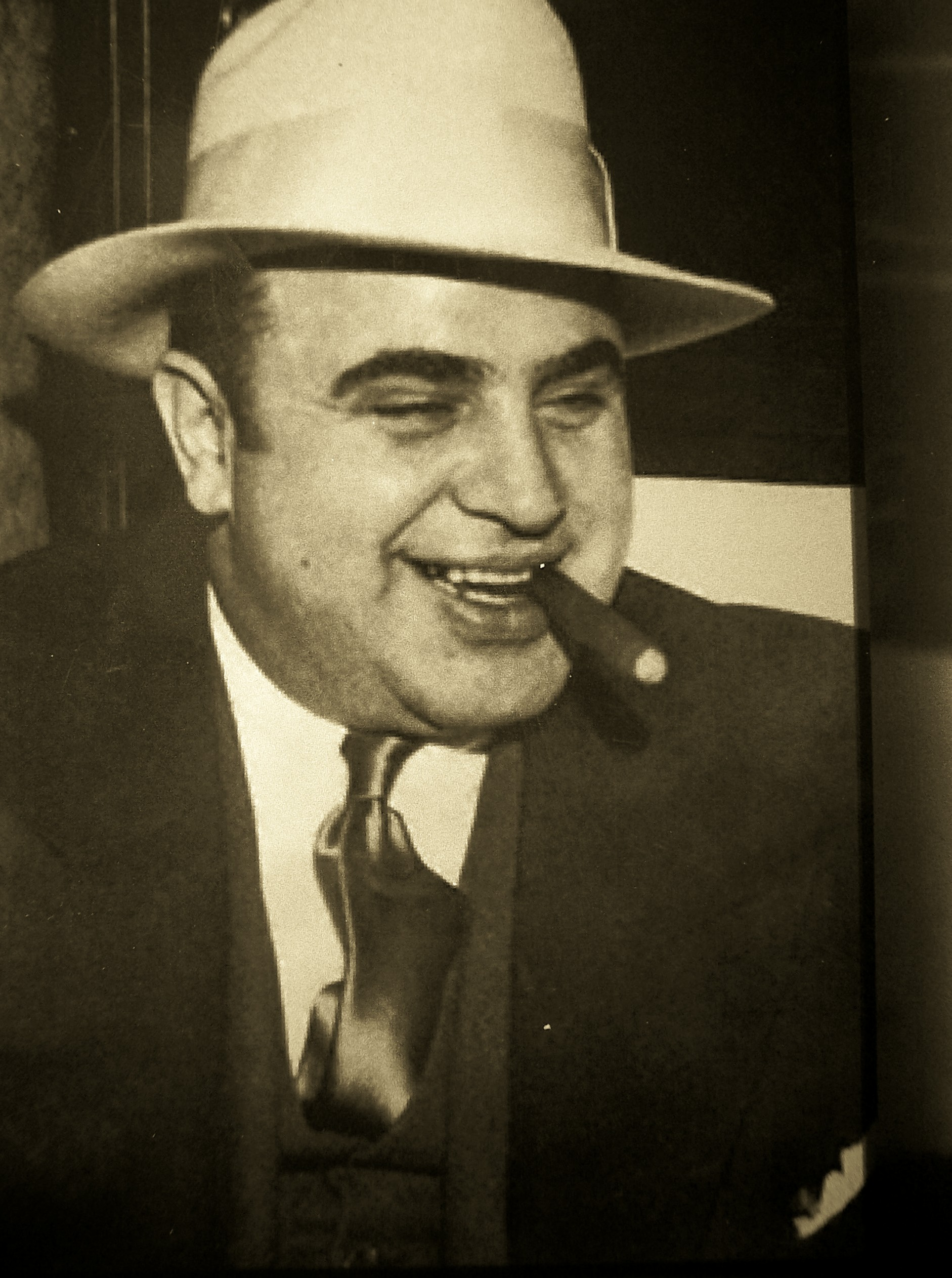 5. Al Capone (nearly $1.3 billion per year in income, allowing for inflation)