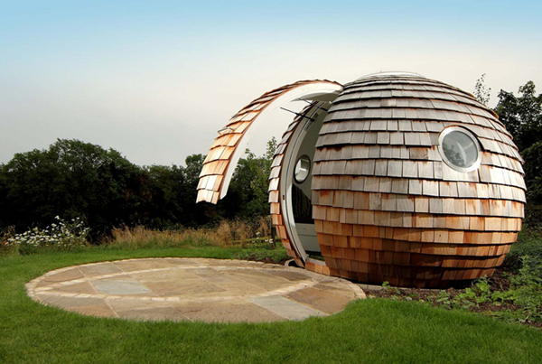 these 15 incredible outdoor office pods will make working at home even