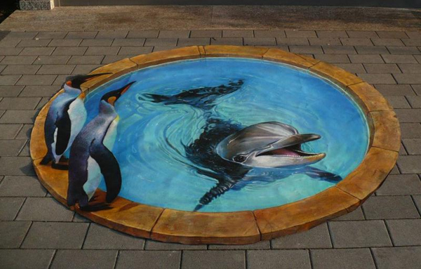 15 Coolest 3D Street Art Ads
