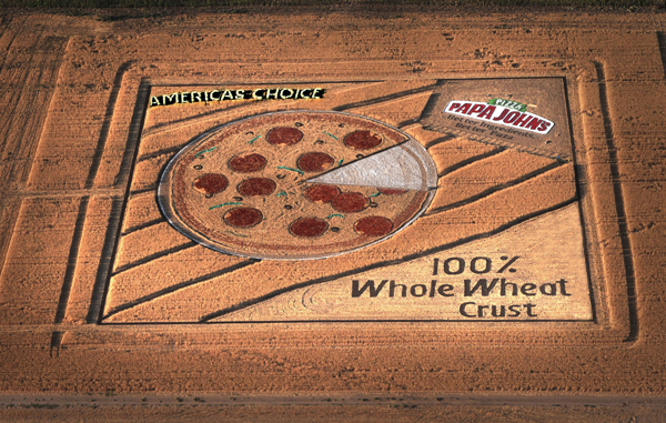 15 Amazing Pieces of Crop Circle Advertising