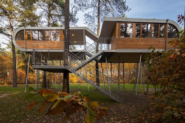 Lead for Office Treehouses - The Treehouse – Hechtel-Eksel, Belgium