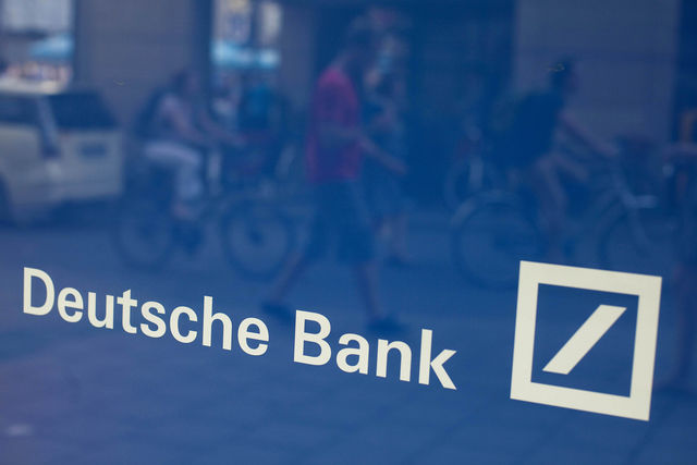 Deutsche Bank CEOs resign