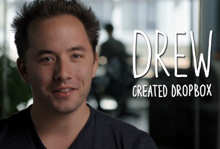 Drew Houston - CEO of Dropbox
