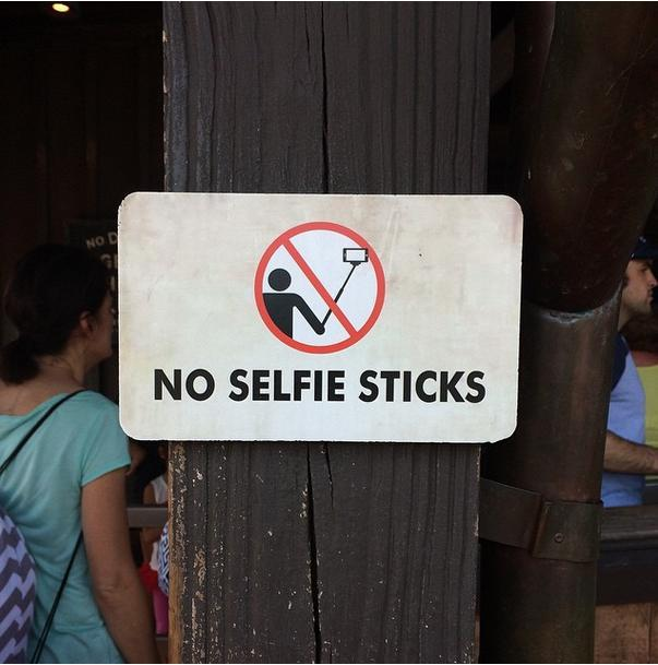 Selfie Stick Ban - Disney Theme Park Locations