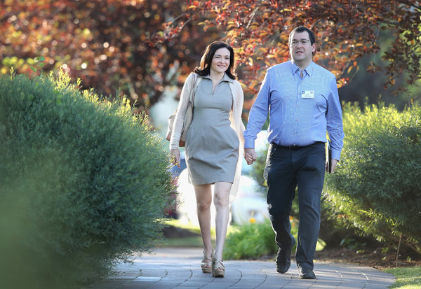 Shery Sandberg on Grief & Loss After Losing Her Husband