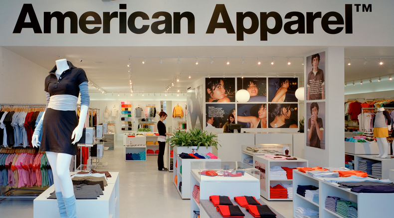 American Apparel Restructuring Plans