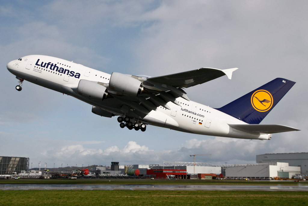 Lufthansa First Class Air Quality