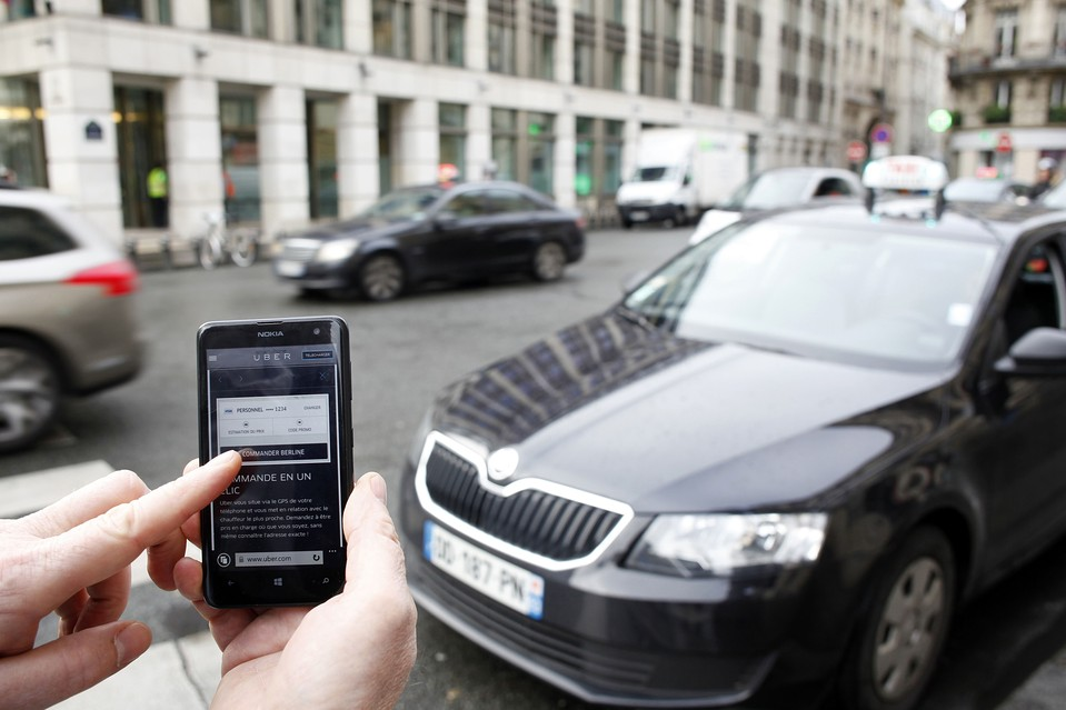 UberPop Suspended in France