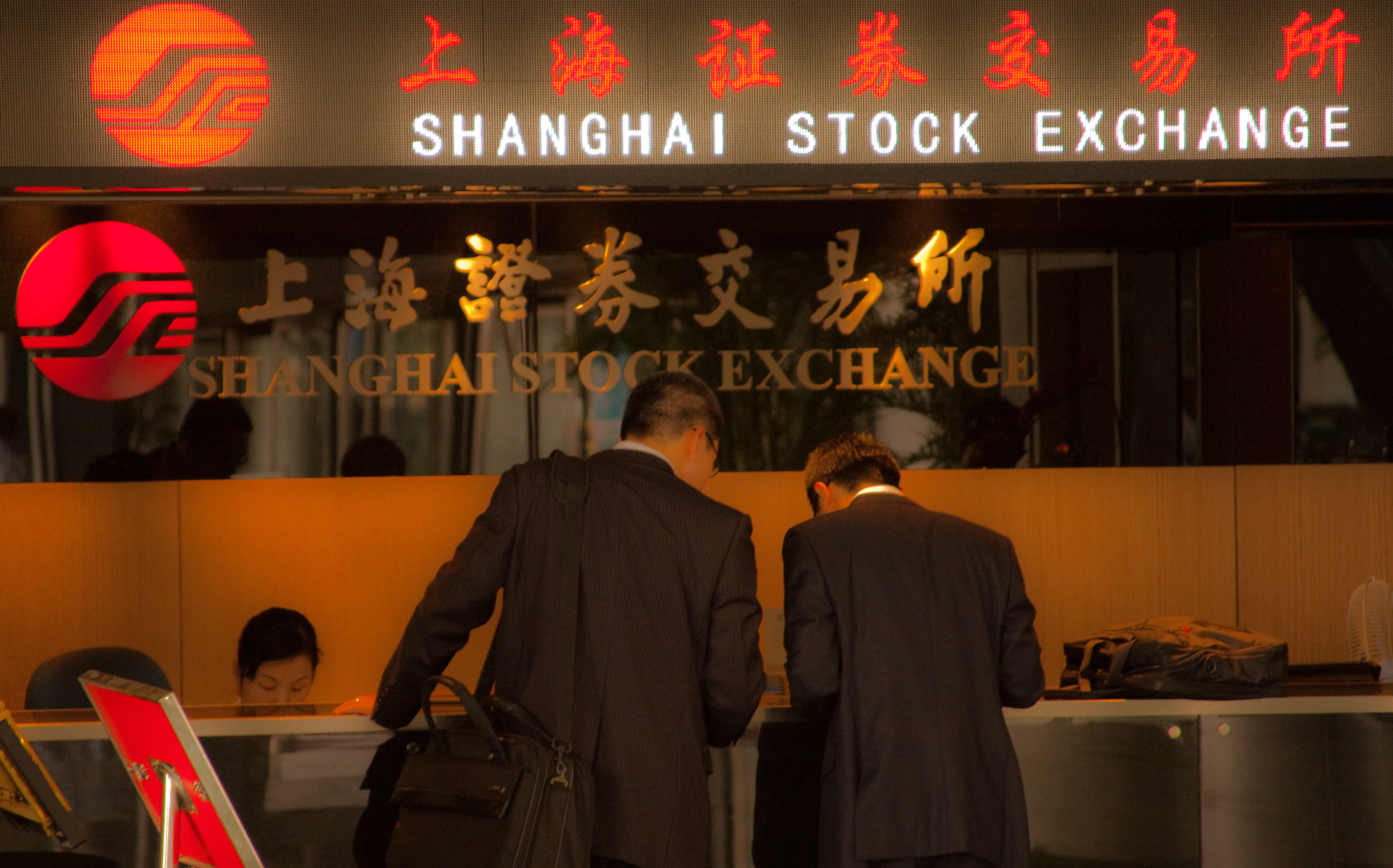 China Stocks Collapse