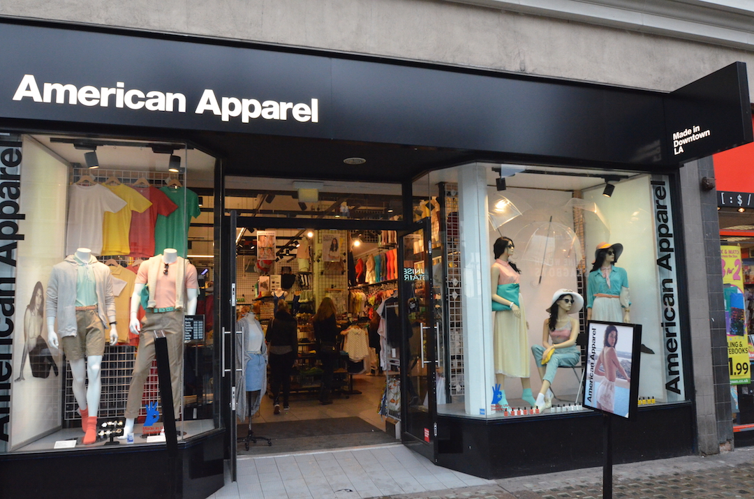 American Apparel Out Of Business In 12 Months