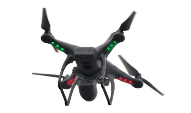 Drone Drug Delivery into Ohio Prison Yard