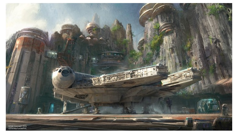 Star Wars Theme Park at Disney