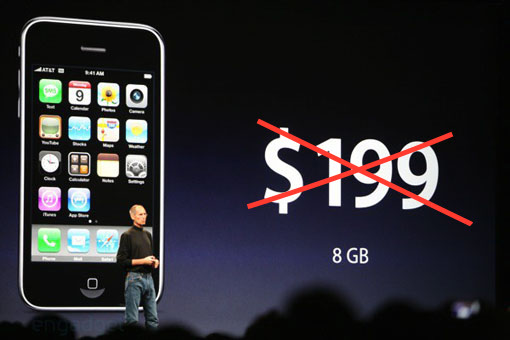 Verizon Wireless No Longer has 199 Dollar iPhones