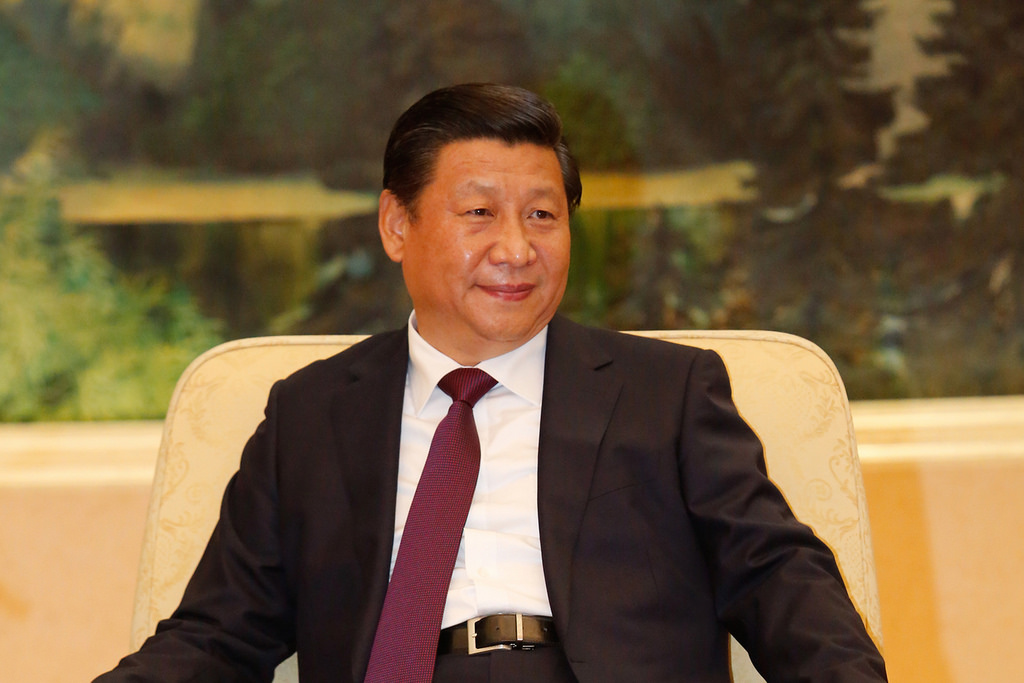 China Stocks Xi Jinping
