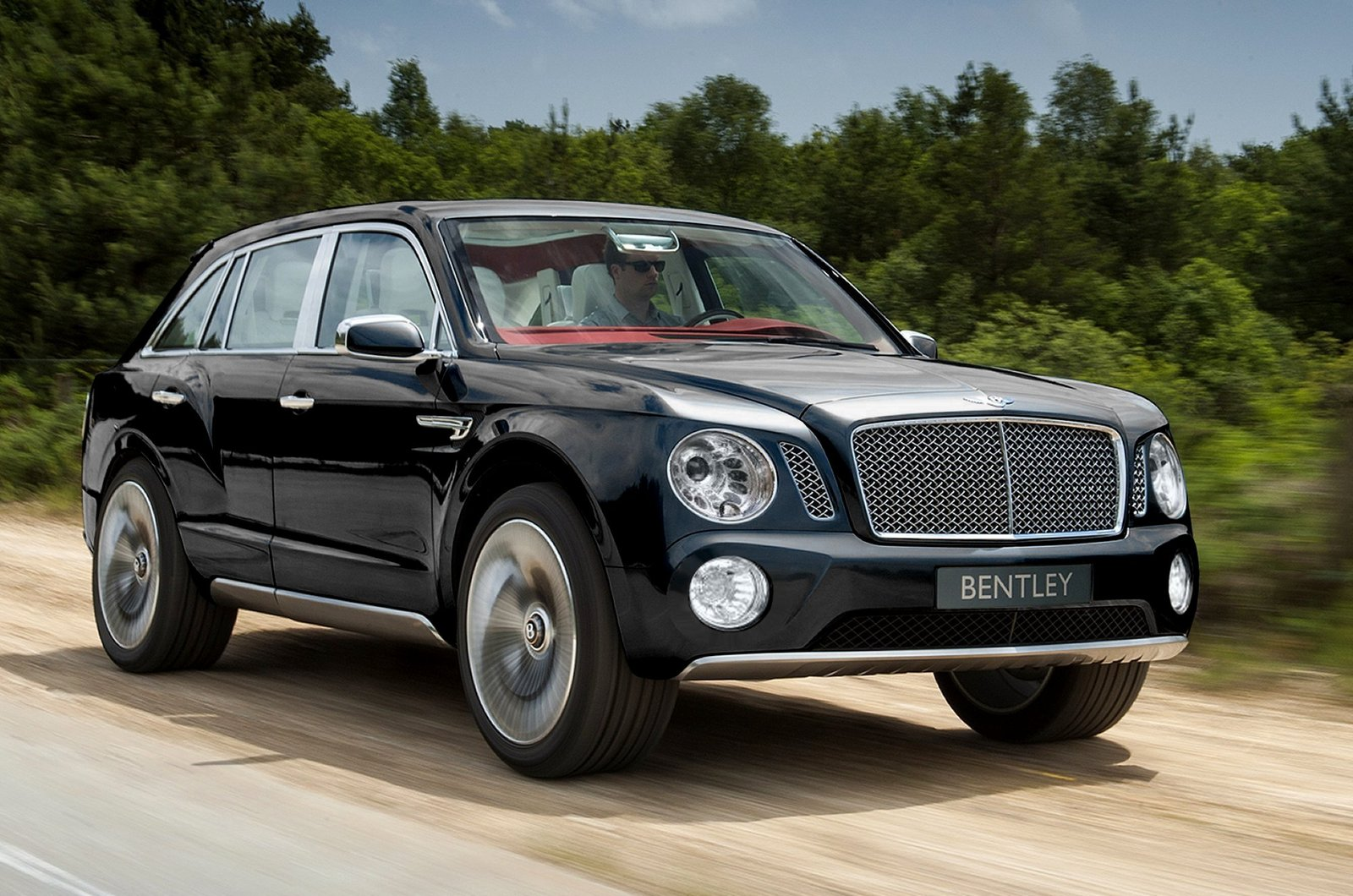 Bentley-SUV-front