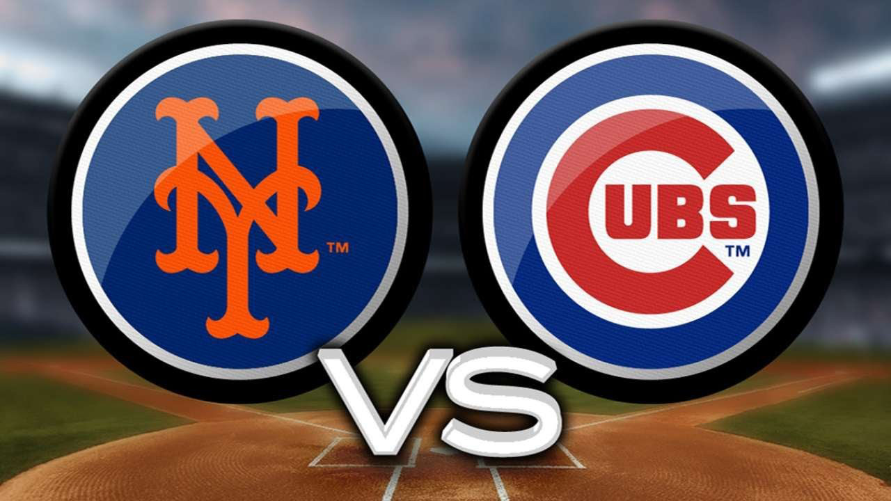 Cubs Vs Mets Playoff Series