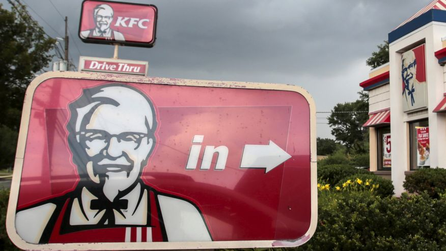 Yum Brands profits are down