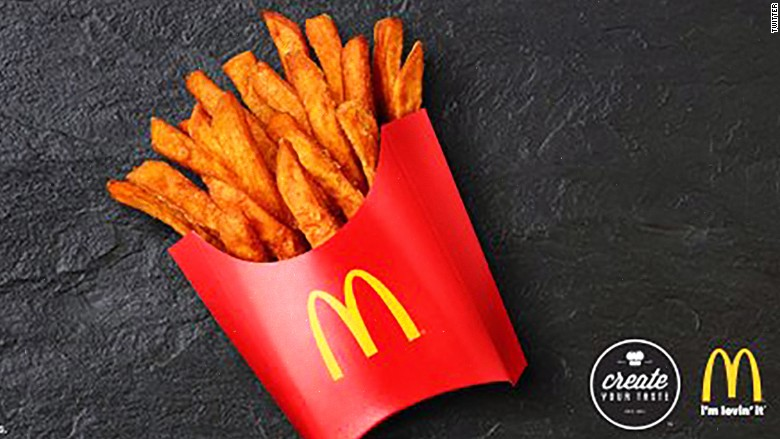 McDonald's Sweet Potato Fries