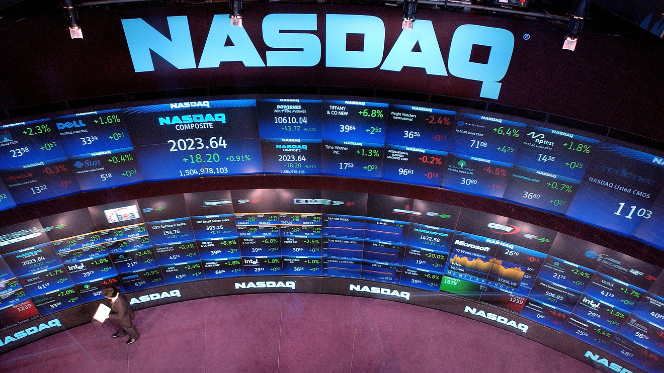Nasdaq Profits Are Up on higher trading volumes