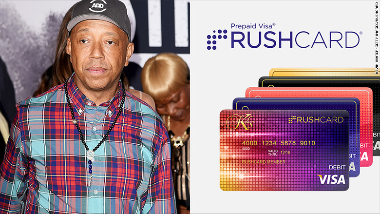 Russell Simmons and the RushCard
