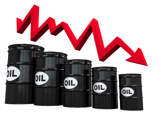 Crude Brent Oil Prices At 20 Dollars Per Barrel