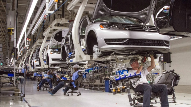 Germany Volkswagen Plants Closing for one month long vacation