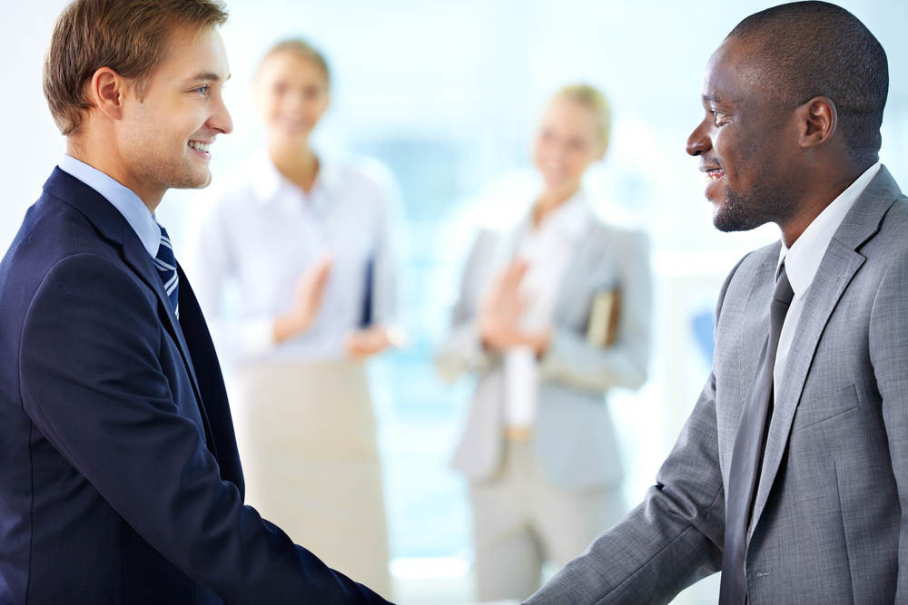 Introduce Yourself by standing up - Business Etiquette