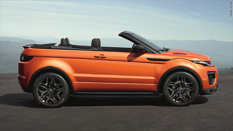 Jaguar Land Rover Evoque Convertible