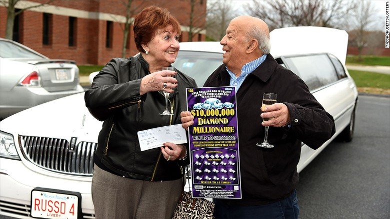 Massachusetts Lottery Winner - One Million Dollars for Second Time