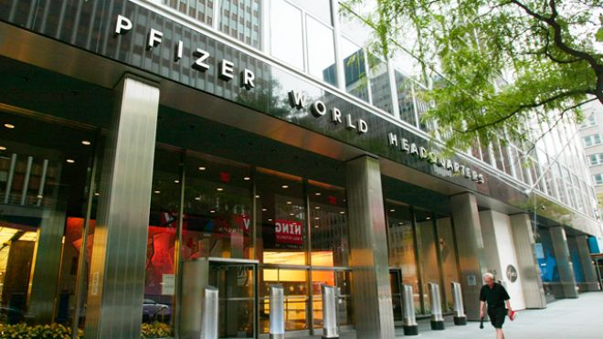 Pfizer World Headquarters - Allergan Merger on the way