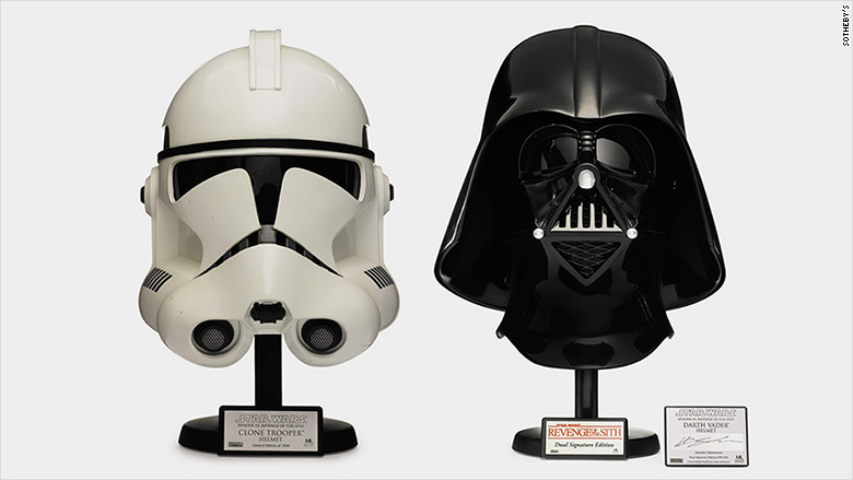 Star Wars Replica Helmets Sothebys Auction