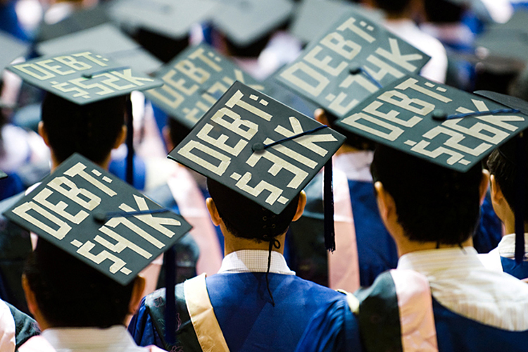 Student loans the the Federal Reserve